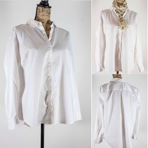 Apt 9 White Buttondown Shirt